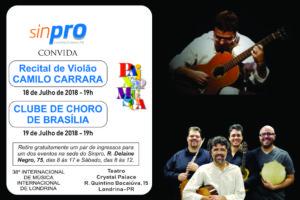 Sinpro Convida 2018 flyer