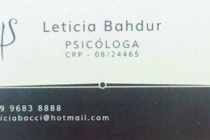leiticia psicologa